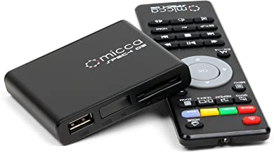 Micca Speck G2 1080p Full-HD Ultra Portable Digital Media Player for USB Drives and SD/SDHC Cards