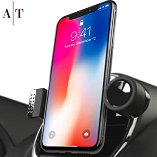 SALE - Cell Phone Holder For Car Air Vents | 360° Rotation Car Phone Mount, Fits All Smartphones - iPhone X, XR, XS Max, 8, 7, 6, 5, | 6/7/8 Plus | Galaxy S7, S8, S9, Note 9 | Luxury Vent Phone Holder