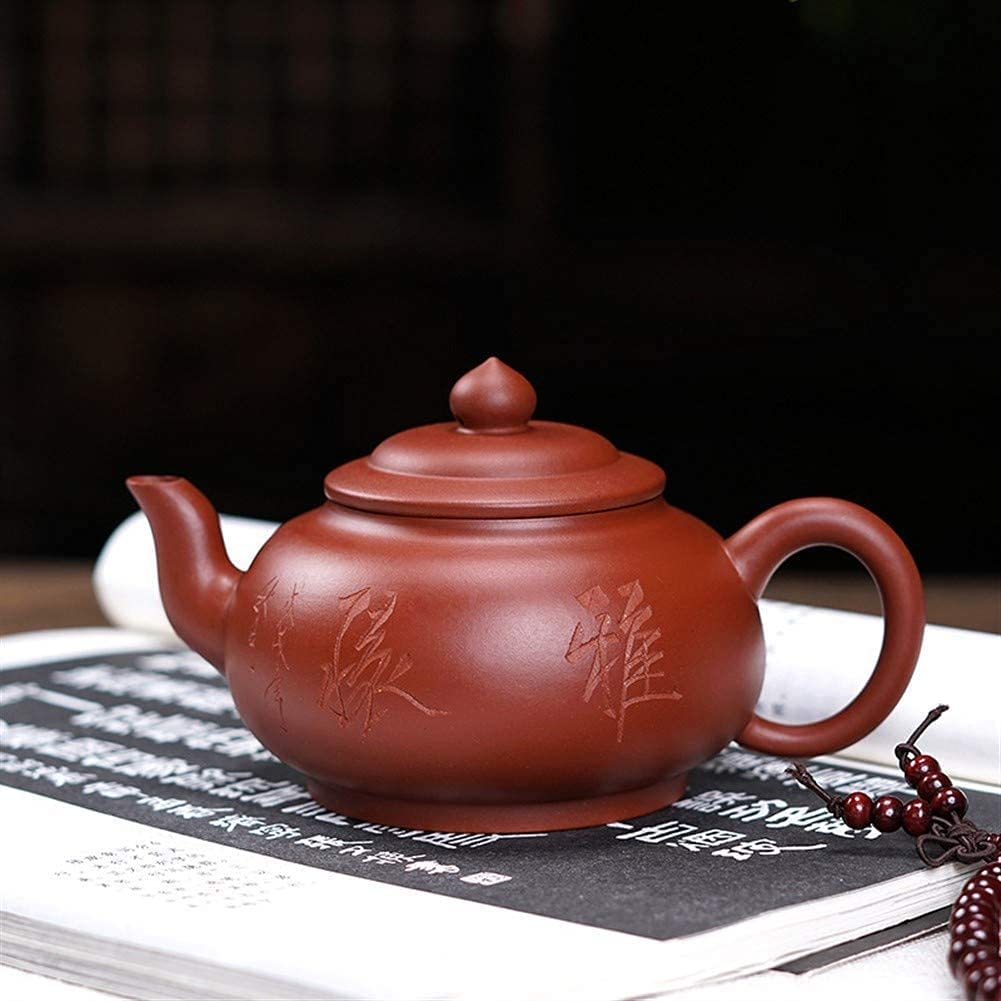 HUAXUE Popular standard Teapot Japanese, Special Campaign Sakura Clay Laughed Purple T