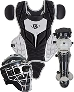 Louisville Slugger Youth PG Series 5 Catchers Set, Black/Gray (Renewed)