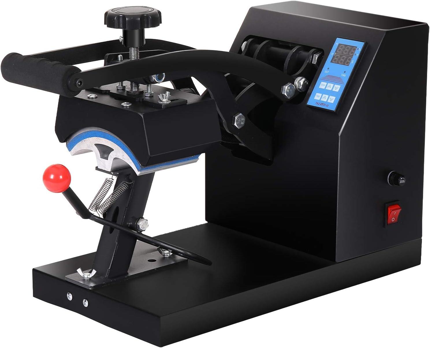 Angoo Heat Press Professional LCD Ti Hat Under blast sales Machine with New life
