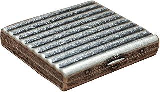 LKLKLK Estuche de Cigarrillos de Cobre metálico Empaquetado Estuche de Cigarrillos a Prueba de Humedad para Hombres y Muje...