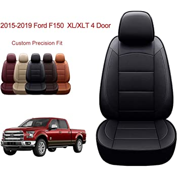 Amazon Com Luckyman Club Full Set Seat Covers Fit For F150 Crew Cab From 2015 To 2020 And Fit For F250 F350 F450
