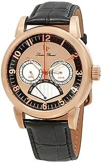 Lucien Piccard Men's LP-15051-RG-01 Analog Display Quartz Black Watch