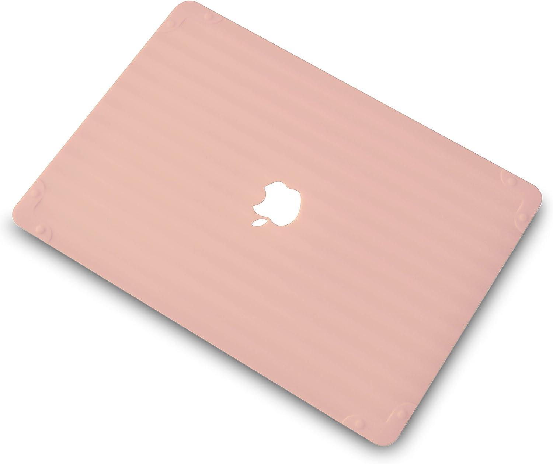 Funda MacBook Air 13 Retina A2337 M1 A2179 A1932 baby pink