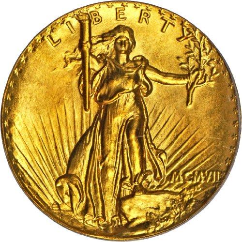 1907 No Mint Mark Saint Gaudens Ultra High Relief Pattern PCGS PR-69