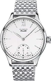 Dugena - 7090116 - Reloj para Hombre, automático, analógico, Correa de Acero Inoxidable, Color Plateado