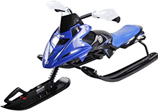 Durable Metal Racer Snow Sledge Snow Scooter Sled Ski Sled for Kids Snow Fun Sledge with Brakes And PU Seat Toboggan for W...