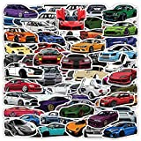 JDM Racing Car Stickers 100pcs Popular Car Stickers and Decals for Teens Kids Adults Vinyl Waterproof Stickers for Laptop Water Bottle Skateboard