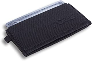 Minimalist Wallet & Credit Card Holder For Men with Slim Design by Raw (Women love it too!)