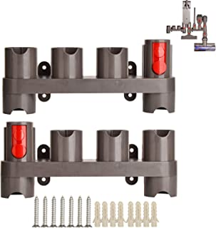 Best Mount Holder for Dyson V7 V11 V8 V10 Absolute Animal Trigger Motorhead Vacuum Cleaner Attachments Organizer with Expansion Screws,Use On Docking Station Or On Wall Review