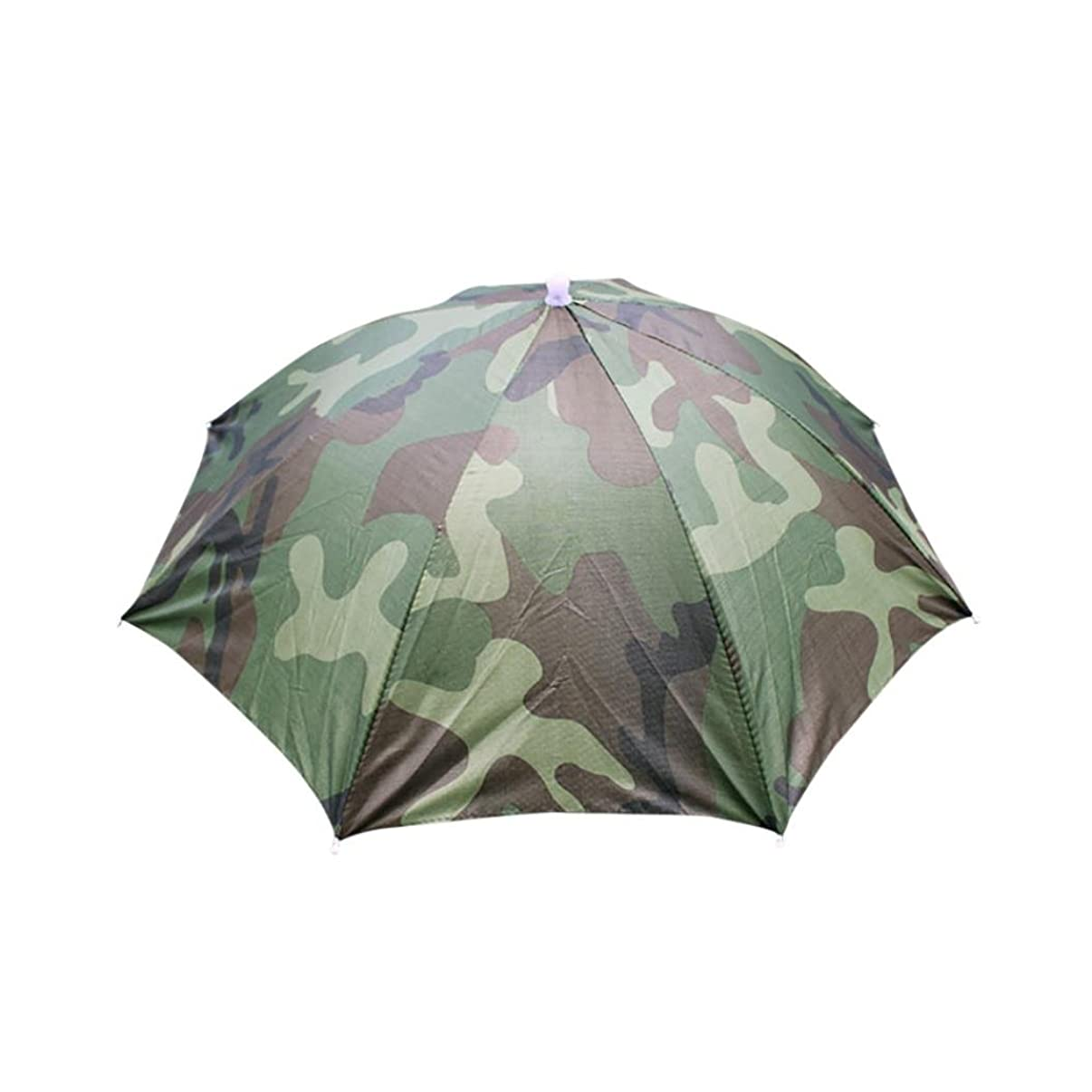Kimloog Clearance!Sun & Rain Rainbow Umbrella Hat with Head Strap for Adults and Kids