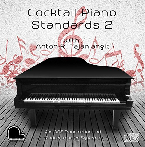 Cocktail Piano Standards 2 - QRS Pianomation and Baldwin Concertmaster Compatible Player Piano CD