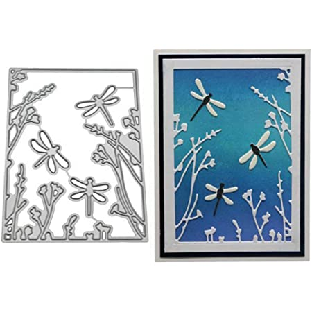 DAKISHIN Metal Cutting Dies for DIY Scrapbooking Paper Embossing Stencils AB0004
