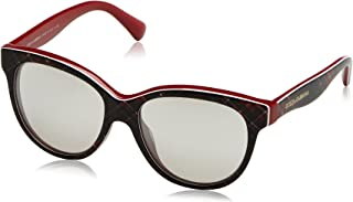 7d4395b388ad Dolce and Gabbana DG4176 29886G Red/Blue / Red DG4176 Round Sunglasses Lens  C