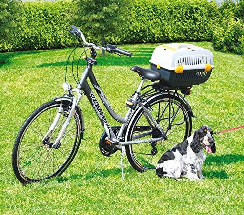 Bellelli Jet Box Hunde Transportbox Hundetransportbox Hundebox Gepäckträgermontage, Herstellernummer:BEL01KIT0025CS_BD1, Größe:S (48 x 31 x 30 cm)