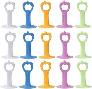 15 pezzi per proteggere le pareti e alleviare limpatto delle porte. Fermaporta in silicone anti-collisione