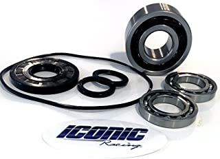 Iconic Racing Front Differential Gear Case Bearing and Seal Kit with Oring Compatible with 11-16 Polaris RZR 570 800 900 1000