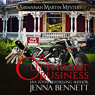 A Cutthroat Business: A Savannah Martin Novel audiobook cover art