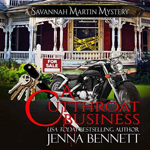 A Cutthroat Business: A Savannah Martin Novel audiobook cover art