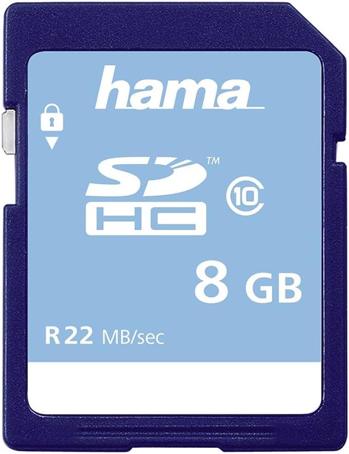 17 Hama Speicherkarte Sd 2gb Sd 2 0 Standard Class 4 Datensicherheit Dank Mechanischem Schreibschutz Beschriftungsfeld