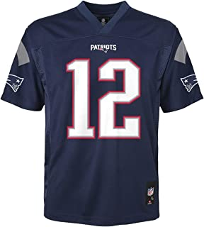 Outerstuff Tom Brady New England Patriots NFL Youth Navy Home Mid-Tier Jersey