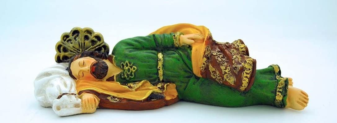 Sleeping St. Now free shipping Super special price Joseph Statue