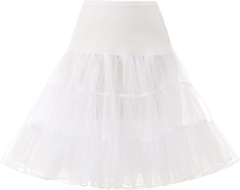 Remedios 1950s Petticoat Underskirt Crinoline Slips for Women Tutu Skirt Dress