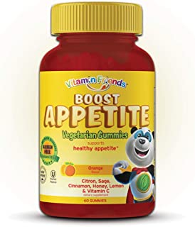 Vitamin Friends - Kids Boost Appetite Gummies (60 Count) - All Natural Children's Appetite Stimulant - Supports Healthy Immune System and Energy Levels - Vegetarian, Kosher, Allergen Free Vitamin