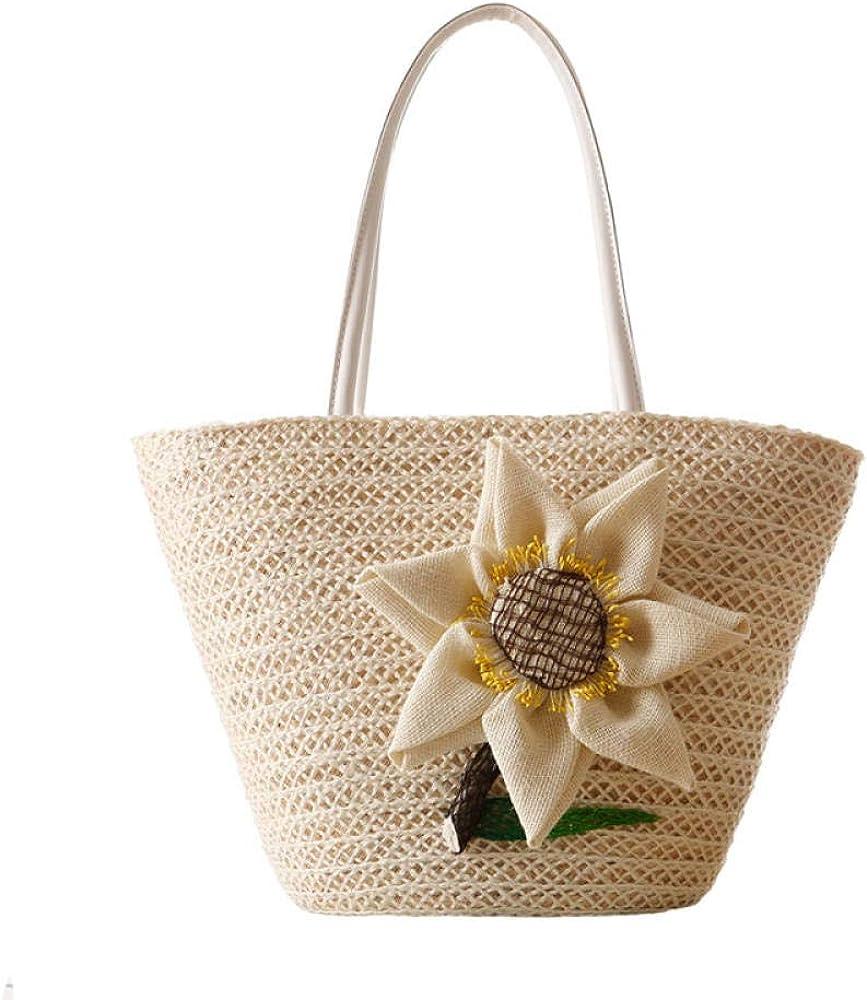 Women Flower Courier shipping free shipping Straw Bags Bohemian Summer Tra Female Handbag Beach Ranking TOP3