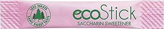 ecoStick Zero Calorie Sweetener Packets | Pink Saccharin | 2000 Count | Gluten Free