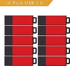 Centon ValuePack USB 3.0 Datastick Pro2 (Red), 8GB 10 Pack