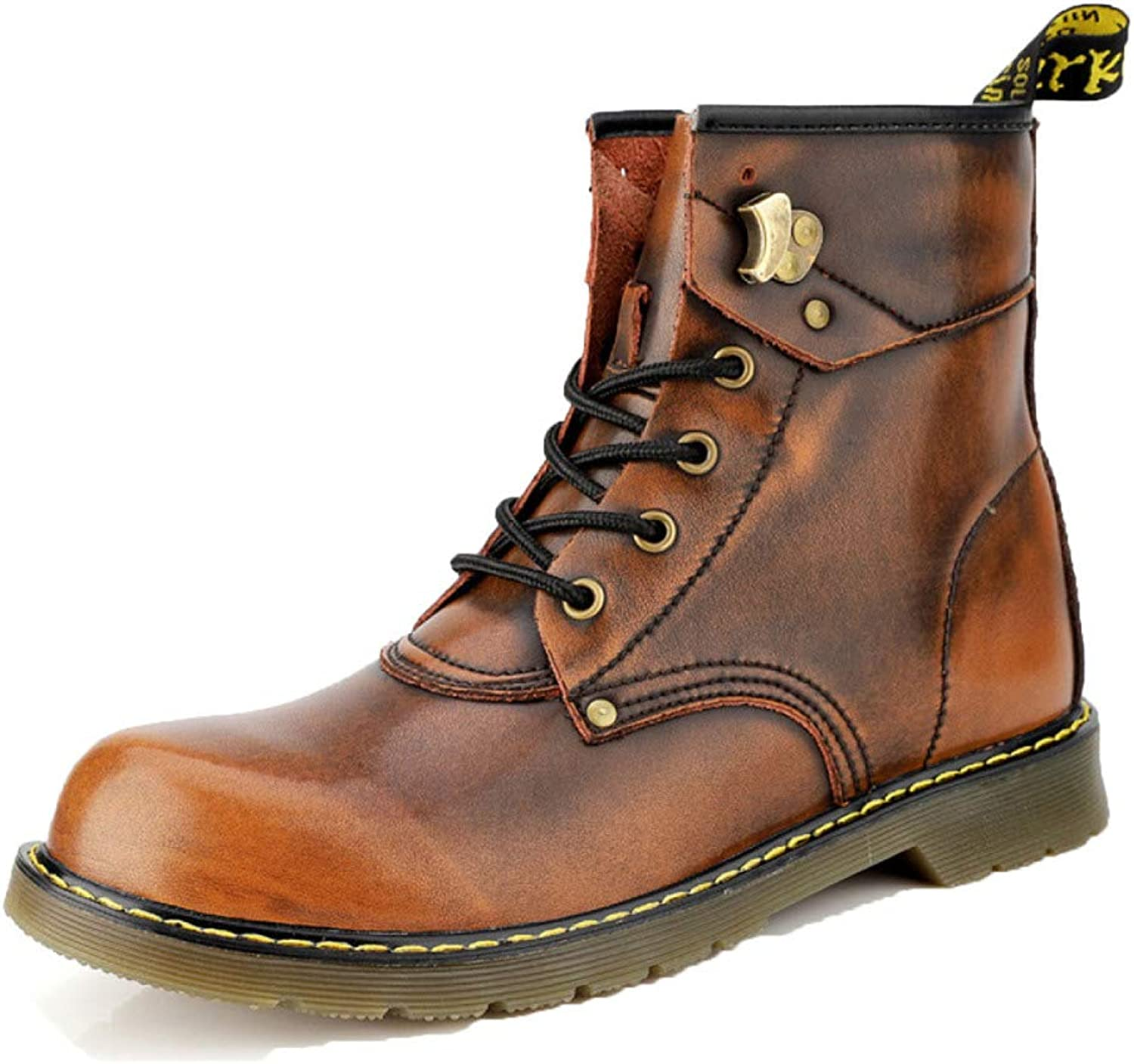 Men's Boots Work Boots Waterproof Trainers shoes Martin Boots shoes Retro Desert