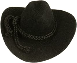 "ETC Doll Accessories New 2/"" White Flocked Cowboy Hat CRAFTS"