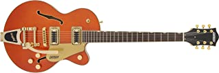 GRETSCH エレキギター G5655TG Electromatic® Center Block Jr. Single-Cut with Bigsby® and Gold Hardware, Laurel Fingerboard, Orang...
