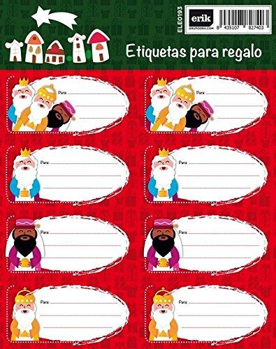 Grupo Erik Editores   Etiquetas Navidad Reyes Magos