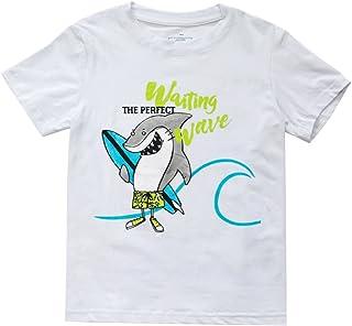 KISBINI Toddlers Boys Cotton T Shirt Clothes Tees