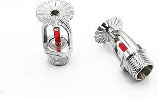 xinyiyuan Lower 2pcs Fire Sprinkler 68 Centigrade 155.4 Fahrenheit 1/2