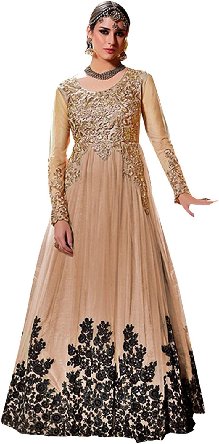 Bollywood Anarkali Dresses for women Salwar Kameez Ceremony Patyala Punjabi 744