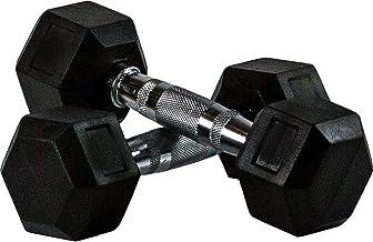 Sky Land Neo Hex Dumbell Set, 30Kg x 2 - Black, Em-9260-30