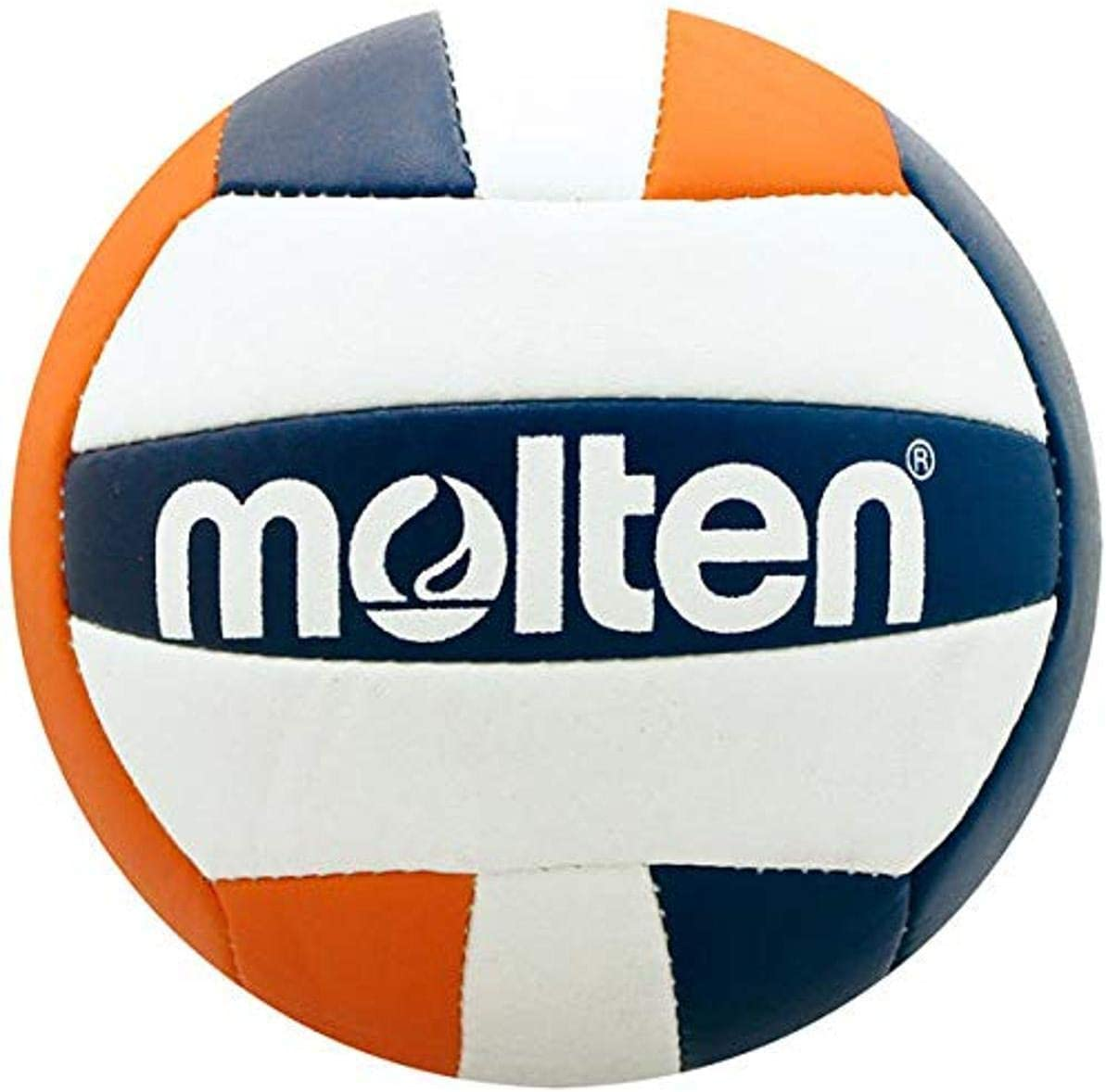 Molten Mini Courier shipping free shipping Volleyball Navy Orange ORA Max 90% OFF V200-NVY