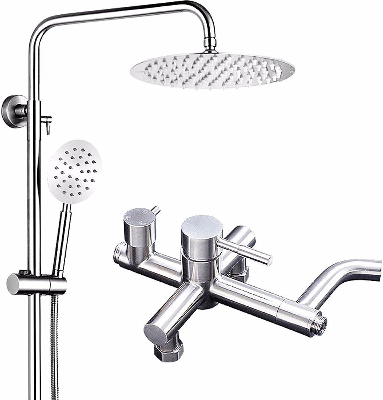 Lvsede Bad Wasserhahn Design Küchenarmatur Niederdruck Edelstahl Hei Und Kalt Wasserhahn Dusche Bad Duschkopf Set L6065