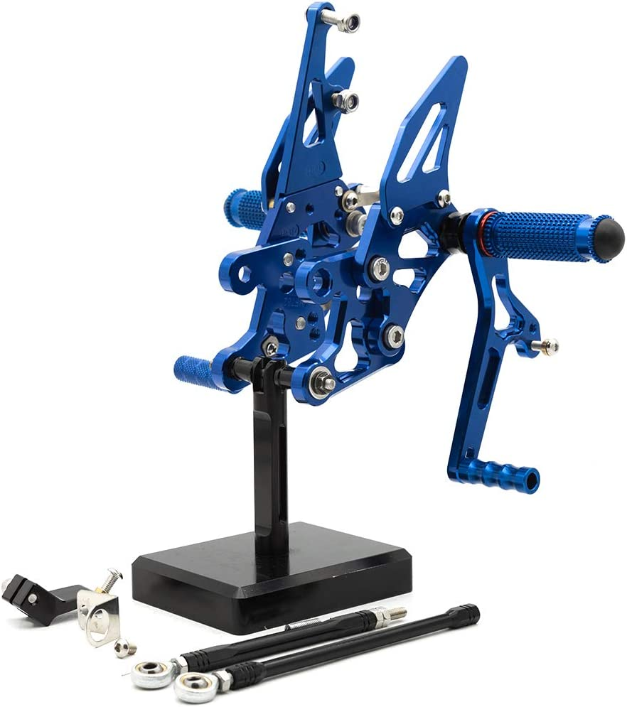 FXCNC CNC Billet Motorcycle Adjustable メーカー公式ショップ Re Foot 物品 Rearsets Pegs