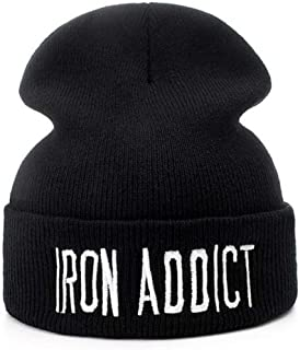 cf5fd7aed3c Amazon.com  Workout - Beanies   Knit Hats   Hats   Caps  Clothing ...