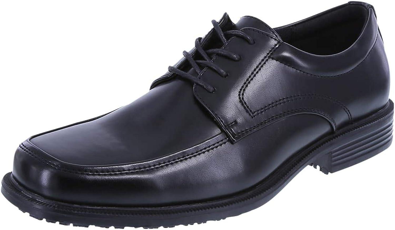 SafeTstep Men's Slip Resistant Monroe Oxfords