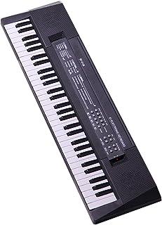 Reswealrc 54 Key Piano Keyboard Digital Piano Portable Mini Kids Electric Music Keyboard with Dual Power Supply and Mini M...