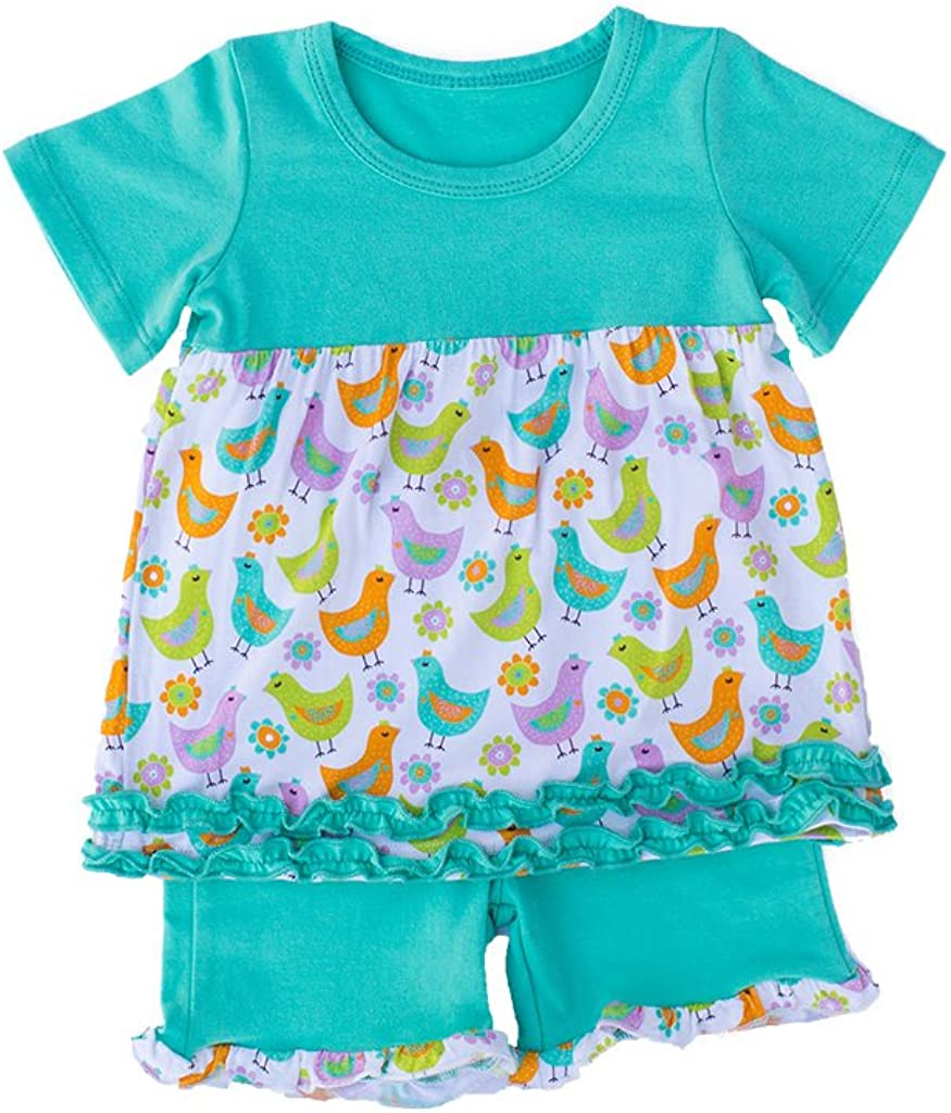 Overseas parallel import regular item Kozi Co. Girls Short Sleeve Tunic Yea Spring Elegant 6-8 - Chicken Set