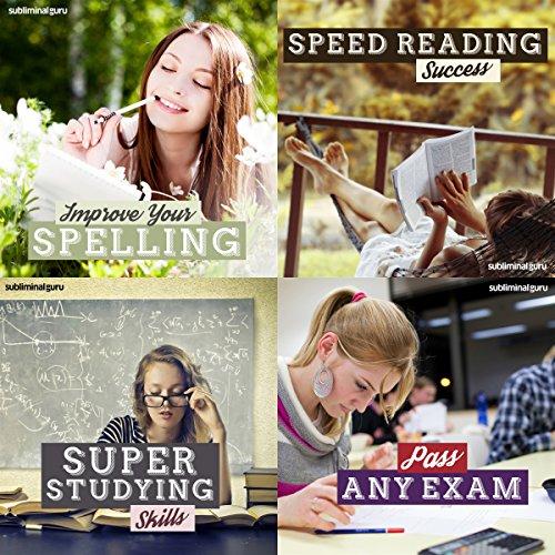Couverture de Super Student Subliminal Messages Bundle