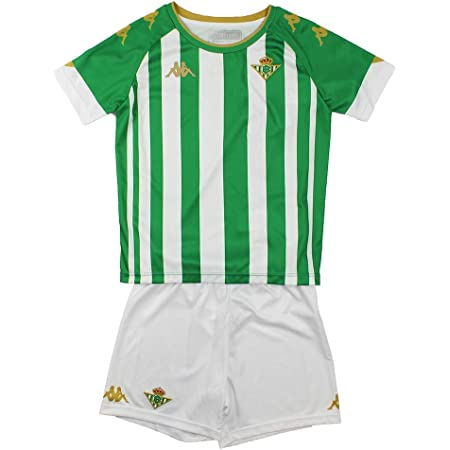 Kappa KIT HOME NIÑO Conjunto Real Betis, Verde/Blanco, 5 años, Estándar