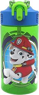 Zak Designs PWPL-T120 Paw Patrol Water Bottles, 16 oz, Rocky, Rubble & Chase